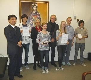 Jugendaustausch in Balkum: Junge Japaner begeistert von Wassermühle ...